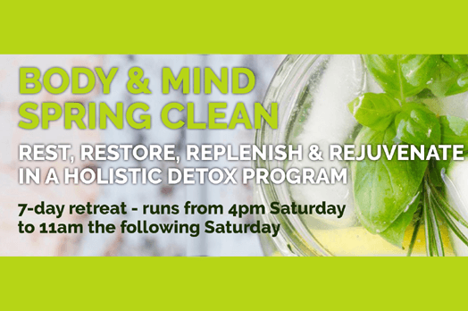 Rest & Digest Wellness Haven - 7 Day Body & Mind Spring Clean Retreat