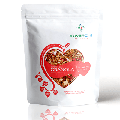 Log in Peanut Butter Goji Granola 1kg