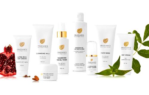 Pradiance Natural & Organic Skin Care