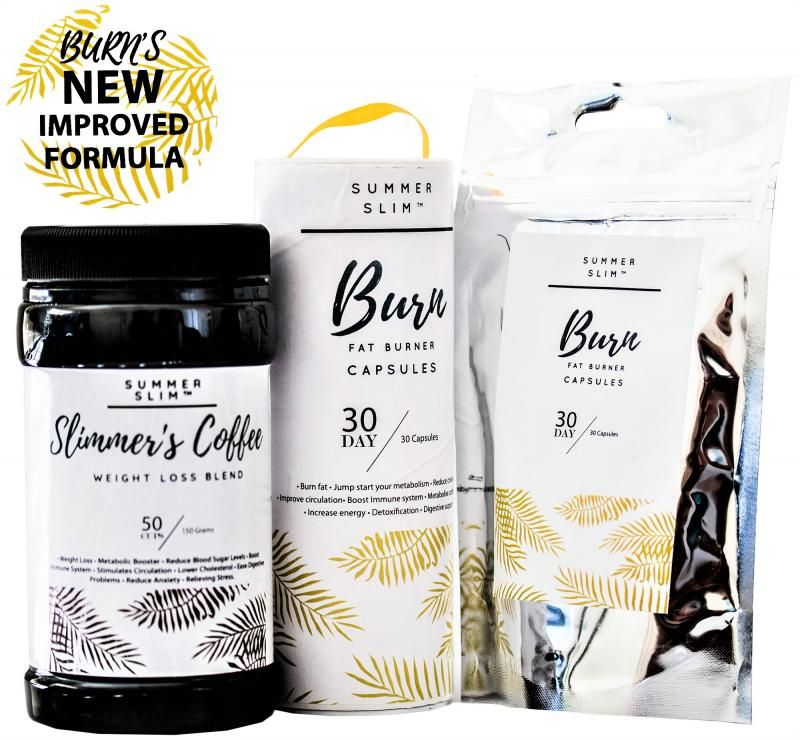 R650.00 PER SLIMMERS COFFEE  AND BURN COMBO
